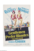 Movie Posters:Musical, Gentlemen Prefer Blondes (20th Century Fox, 1953)....