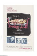 Movie Posters:Drama, Baby Doll (Warner Brothers, 1956)....