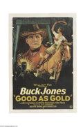 Movie Posters:Western, Good as Gold (Fox, 1927)....