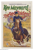Movie Posters:Western, The Red Raiders (First National, 1927)....