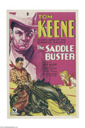 Movie Posters:Western, The Saddle Buster (RKO, 1932)....