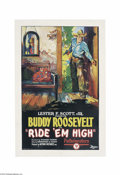 Movie Posters:Western, Ride 'Em High (Pathe', 1927)....
