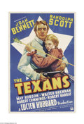 Movie Posters:Western, The Texans (Paramount, 1938)....