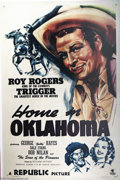 Movie Posters:Western, Home in Oklahoma (Republic, 1946)....