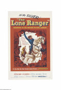 Movie Posters:Western, The Lone Ranger (Warner Brothers, 1956)....