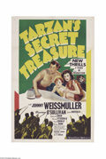 Movie Posters:Adventure, Tarzan's Secret Treasure (MGM, 1941)....