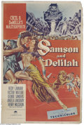 Movie Posters:Adventure, Samson and Delilah (Paramount, 1949)....