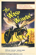 Movie Posters:Science Fiction, Wasp Woman,The (Film Group, Inc., 1959)....