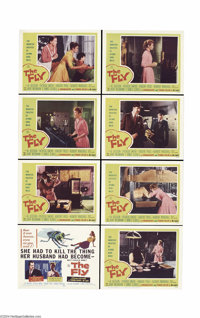 The Fly (20th Century Fox, 1958).... (8 pieces)
