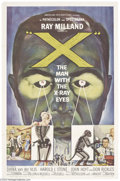 Movie Posters:Science Fiction, X-The Man With the X-Ray Eyes (AIP, 1963)....
