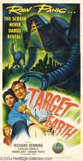 Movie Posters:Science Fiction, Target Earth (Allied Artists, 1954)....
