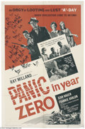 Movie Posters:Science Fiction, Panic in the Year Zero! (American International, 1962)....
