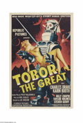 Movie Posters:Science Fiction, Tobor the Great (Republic, 1954)....