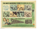 Movie Posters:Science Fiction, Incredible Shrinking Man (Universal International, 1957).... (3pieces)