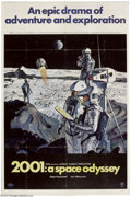 Movie Posters:Science Fiction, 2001: A Space Odyssey (MGM, 1968)....