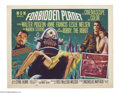 Movie Posters:Science Fiction, Forbidden Planet (Loews - MGM, 1956)....