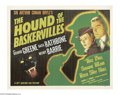 Movie Posters:Mystery, The Hound of the Baskervilles (20th Century Fox, 1939)....