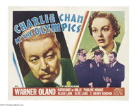 Charlie Chan at the Olympics (20th Century Fox, 1937)