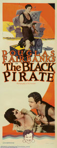 Movie Posters:Adventure, The Black Pirate (United Artists, 1926)....