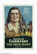 Movie Posters:Adventure, Iron Mask (United Artists, 1929)....