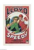 Movie Posters:Comedy, Speedy (Paramount, 1928)....