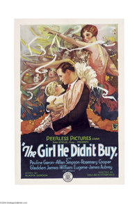 The Girl He Didn't Buy (Peerless Pictures, 1928)