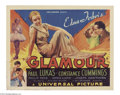 Movie Posters:Drama, Glamour (Universal, 1934)....