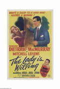 Movie Posters:Comedy, The Lady is Willing (Columbia, 1942)....