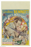 Movie Posters:Drama, What Price Hollywood? (RKO, 1932)....