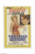 Movie Posters:Comedy, Two-Faced Woman (MGM, 1941)....