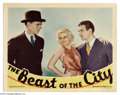 Movie Posters:Crime, The Beast of the City (MGM, 1932)....