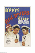 Movie Posters:Adventure, Hell Divers (MGM, 1932)....