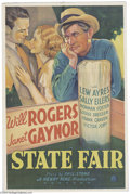 Movie Posters:Comedy, State Fair (Fox, 1933)....