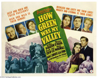 How Green Was My Valley (20th Century Fox, 1941)