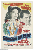 Movie Posters:Comedy, Bringing Up Baby (RKO, 1938)....