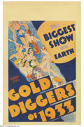 Movie Posters:Musical, Gold Diggers of 1933 (Warner Brothers, 1933)....