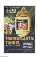 Movie Posters:Science Fiction, The Transatlantic Tunnel (Gaumont, 1935)....