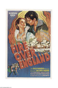 Movie Posters:Drama, Fire Over England (London Film Productions, 1937)....