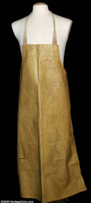 "Leatherface Apron from ""The Texas Chainsaw Massacre (Bryanston, 1974)"