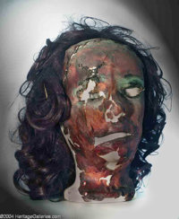 """Leatherface """"Pretty Woman"""" mask from """"The Texas Chainsaw Massacre (Bryanston, 1974)"""
