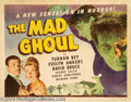 Movie Posters:Horror, The Mad Ghoul (Universal, 1943)....