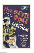 Movie Posters:Horror, The Devil-Doll (MGM, 1936)....