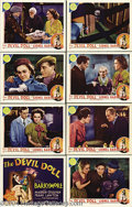 Movie Posters:Horror, The Devil-Doll (MGM, 1936).... (8 pieces)