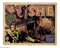 Movie Posters:Fantasy, She (RKO, 1935)....