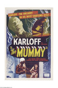Movie Posters:Horror, The Mummy (Universal, R-1951)....