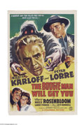 Movie Posters:Horror, The Boogie Man Will Get You (Columbia, 1942)....