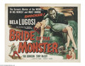 Movie Posters:Horror, Bride of the Monster (Filmmakers Releasing, 1956)....