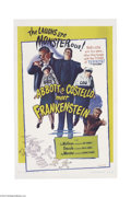 Movie Posters:Comedy, Abbott and Costello Meet Frankenstein (Realart, R-1956)....