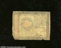 Colonial Notes:Continental Congress Issues, Continental Currency January 14, 1779 $4 Fine. One rounded ...