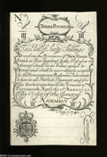 "Colonial Notes:New Hampshire, New Hampshire April 1, 1737 Redated August 7, 1740 ""Cohen ..."